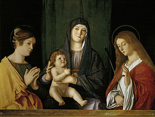The Virgin and Child between two Saints