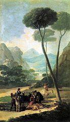 La caída (Goya)