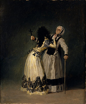 María Cayetana de Silva, 13th Duchess of Alba - Image: La duquesa de Alba y la Beata
