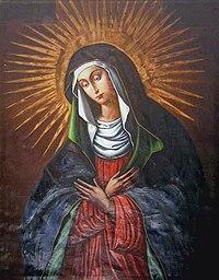 Ostrobramska Matka Boża MiłosierdziaKrólowa Korony Polskiej