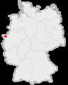 Lage der Stadt Kalkar in Deutschland.png