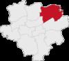 Lage des Dortmunder Stadtbezirks Scharnhorst.png