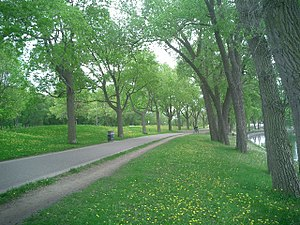 Grand Rounds National Scenic Byway - Path at Lake Calhoun