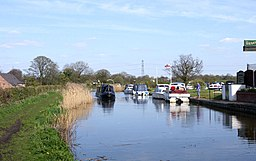 Lancaster Canal at Woodplumpton