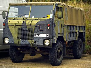 Egy Land Rover 101 Forward Control
