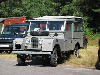 "Land Rover Series - Series I 86 Hard Top. Showing double-skinned '""Safari Roof""."