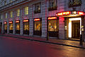 Langan's Brasserie Mayfair London Exterior Night.jpg