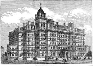 Langham Hotel, London - In 1865