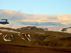 Langjökull glacier Iceland 2005.JPG