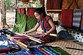 Laos Plateau des Bolovens weaving in Ban Lao Ngam (4).jpg