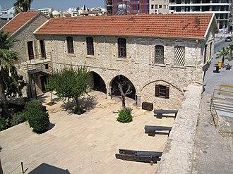 Larnaca Castle - Image: Larnaca castle