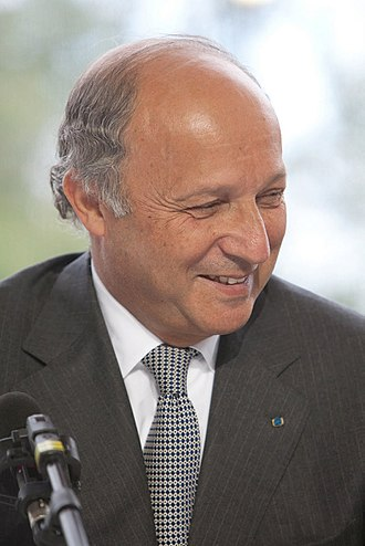 First Valls government - Image: Laurent Fabius 2009