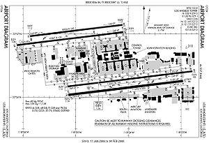 medzin rodn letisko los angeles wikip dia : lax airport diagram - findchart.co
