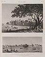 Le Kaire (Cairo). 1. Vue du quartier général de l'armée française; 2. Vue de la place Ezbekyeh (Ezbekîya) (NYPL b14212718-1268751).jpg
