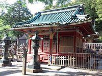 Le Temple Shintô Takisan-Tôshô-gû - Le haiden (La construction du culte).jpg