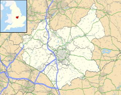 Ashby-de-la-Zouch is located in Leicestershire