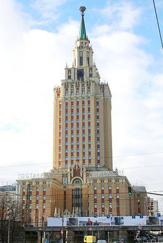 Hilton Moscow Leningradskaya - Hilton Moscow Leningradskaya Hotel in dawn colors