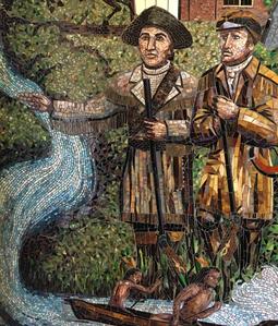 Lewis & Clark Mosaic image
