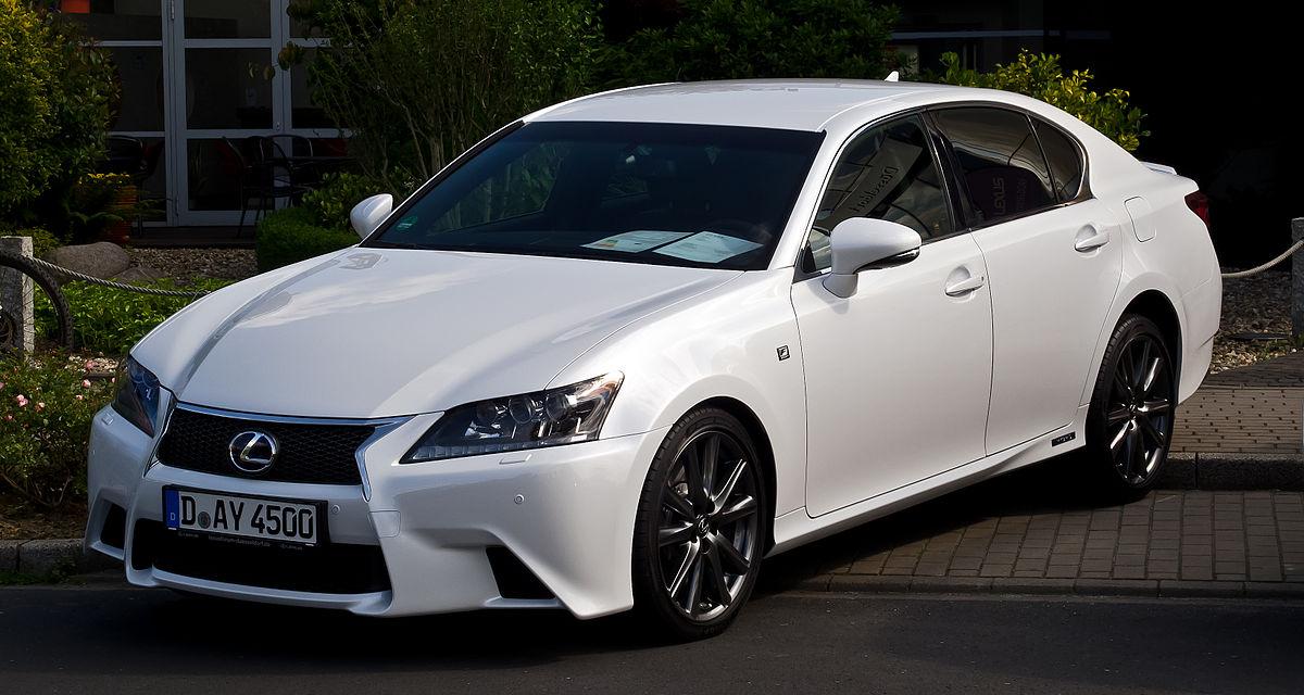 Lexus F Sport >> Lexus GS — Википедия