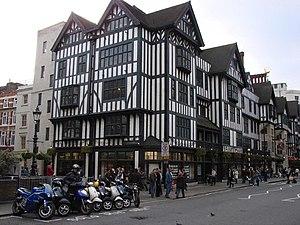 Great Marlborough Street - Liberty store on Great Marlborough Street