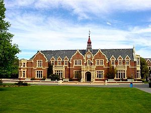Lincoln University (New Zealand) - Ivey Hall, Lincoln University