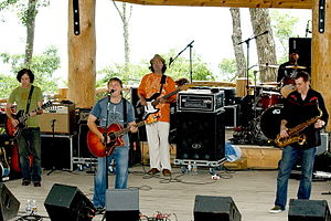 Edwin McCain - Lineup of Edwin McCain Band as of July 7, 2007. Pete Riley is not pictured.