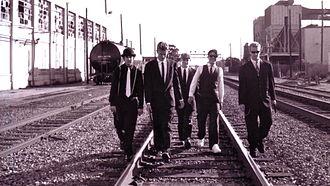 Link 80 - Link 80. 1996. Adam Pereria, Matt Bettinelli-Olpin, Aaron Nagel, Joey Bustos, Nick Traina. Berkeley, California.