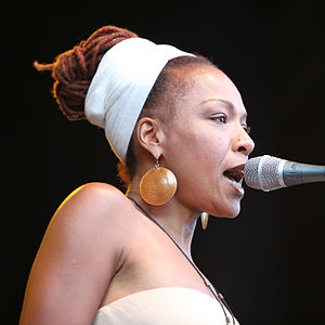 Simone (actress) - Lisa Simone at Stockholm Jazz Festival 2009