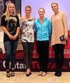 Lisicki, Radwanska, Stosur, Wozniacki (Doha 2012).jpg