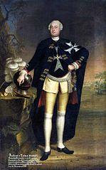 Portrait of Friedrich von Tettau, commander of Werben.