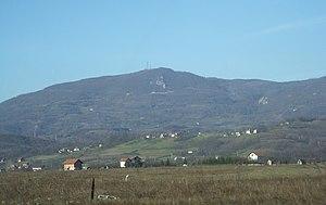Kozara - View of the tallest peak, Lisina