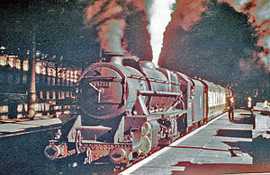 Liverpool Exchange railway station - Liverpool Exchange Station in 1954