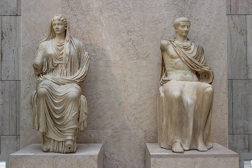 Livia y Tiberio M.A.N. 01