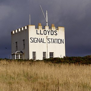 Signal station - Lloyds Signal Station at the Lizard, Cornwall