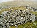 Llwytmor Bach summit cairn - geograph.org.uk - 533334.jpg
