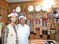 Local Handicraft shop at Kalash valley Chitral KPK, Pakistan.jpg