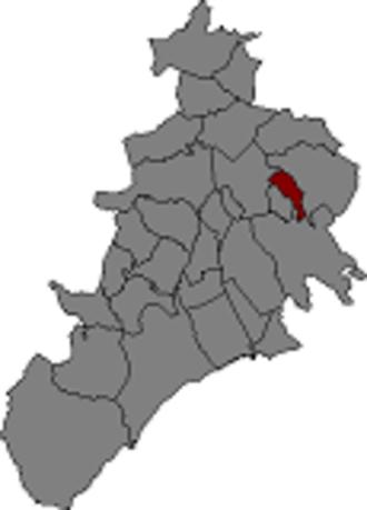 Almoster - Image: Localització d'Almoster