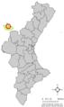 Localització de Torre Baixa respecte del País Valencià.png