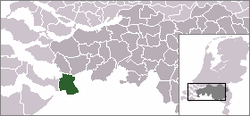 Location of Woensdrecht