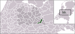 Location of Amerongen