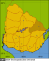 Location department Cerro Largo(Uruguay).png