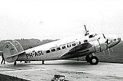 Lockheed 14 PH-ASL KLM Ringway 13.08.38 edited-2