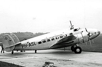 Lockheed Model 14 Super Electra - KLM operated two Lockheed 14s within Europe during 1938/39