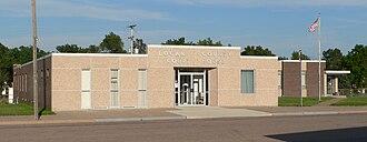 Logan County, Nebraska - Image: Logan County, Nebraska courthouse from NW 2