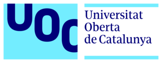 Open University of Catalonia - Image: Logo blau uoc