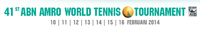 "Logo des Turniers ""ABN AMRO World Tennis Tournament 2014"""