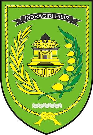 Indragiri Hilir Regency - Image: Logo kabupaten indragiri hilir