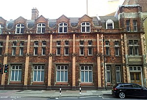 University of Greenwich - Oldest Woolwich Polytechnic building (1891), Bathway Quarter, Woolwich