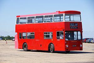 London Transport bus DMS2357 (OJD 357R), 2010 North Weald bus rally.jpg