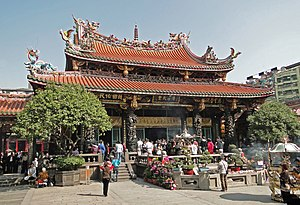Demographics of Taiwan - Lungshan Temple of Manka, Taipei